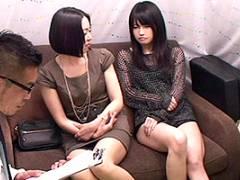 【素人】浦安の姉妹みたいな美人母娘をナンパして親子丼SEXに持ち込む!