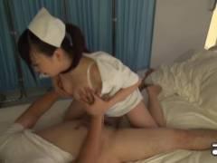 【看護婦 ナース】患者さんを夜這いするエッチで巨乳ナースさん!!