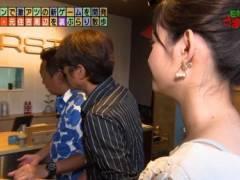 田中瞳アナのブラジャーの肩紐が丸見えハプニングキャプ!テレビ東京女子アナ