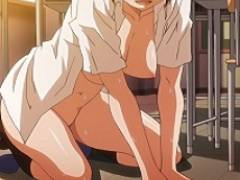 放課後の教室で彼女と盛大にアクメエッチして裸でお掃除する肢体がエロくてもう一回する?