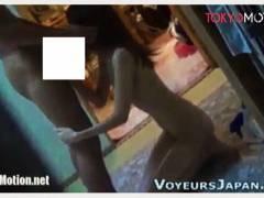 【民家盗撮】ドスケベそうな近所の女子大生!彼氏をフェラチオしてました。