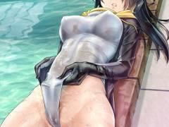 肉まんみたいなオッパイしてる女の子 01
