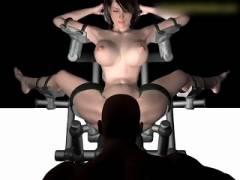 【3Dエロアニメ】怪物によって改造された不死身BODYで人外SEXをヤりまくる人気モデル