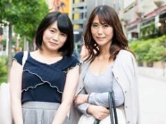 母娘ナンパ ★ 四十路母と娘がナンパ師の言葉巧みな誘導で親子丼SEX!