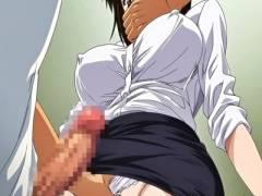 女子トイレでこっそりオナニーしていた女教師!侵入してきた変態に無理矢理犯され.....?