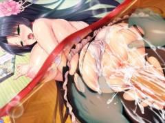月から来たカグヤ姫とこたつむりセックス!(炎のおっぱい異世界エロ魔法学園!)