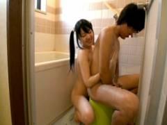 お兄ちゃんとお風呂にはいりたいブラコン妹!お互いの性器洗いっこでヒートアップしちゃった
