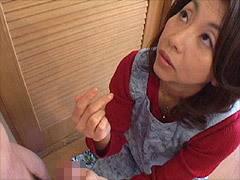 倉木小夜 精子が付着した息子のパンツを見て性病と勘違いした母の中出し性交確認!