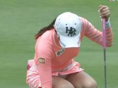 【女子ゴルフ】サントリーレディースゴルフ、JKビジネス並みのパンチラ祭りで草wwwwwwww(画像あり)