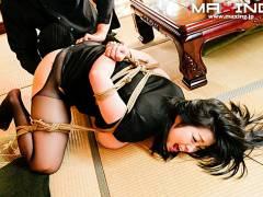 小向美奈子 緊縛奴隷調教され快楽堕ちする美しき爆乳背徳未亡人!