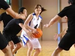 負けたら即セックス!青春をすべてバスケに捧げた本物のアスリート女子がガチンコバスケ対決!