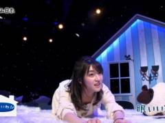 赤木野々花アナがパジャマ姿で四つん這い胸チラおっぱいキャプ!NHK女子アナ