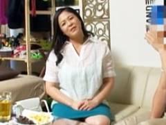 【熟女ナンパ】Lカップ爆乳のぽっちゃり四十路妻と昼下がりの不倫セックス!