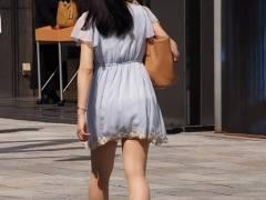 脚フェチ画像 ハイヒールで歩く素人女子の美脚をこっそり隠し撮り!