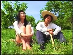 【エロドラマ+美女】昭和官能劇場 因業な淫欲篇!これは危ないお寺にいるセクシーお姉さん。村人がヤリまくりです【村人+なでしこ】