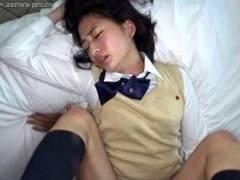 【河北紗依】女子校生の生徒会長にアナル舐め・フェラ・ハメ撮りセックス