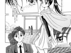 【エロ漫画】自らを天女と名乗るキレイな女性と神社で遭遇したんだが、人間になりたいから私とセックスして欲しいと言ってきたーwww