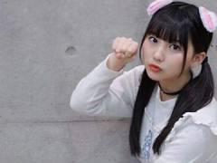 HKT48田中美久の最新おっぱいグラビア。