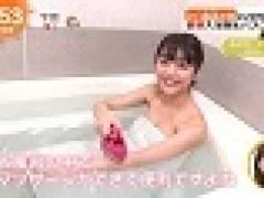 H画像案内 【めざましで松川菜々花(20)の半裸入浴】