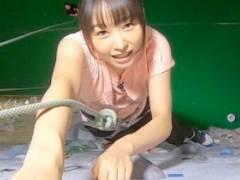 桜井日奈子(22)、クライミングでブラ透け、股間食い込み放送事故wwwwww