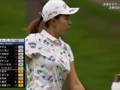 女子プロゴルファーの渋野日向子、エロ過ぎるおっぱいwwwスマイルシンデレラが笑顔で巨乳を見せびらかすwwww