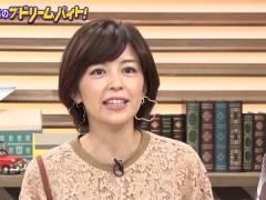 中野美奈子アナ、おっぱいを強調してみる。