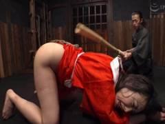 神納花 ドMスレンダー美女が拘束されお尻を叩かれ乳首つねられ感じてしまい絶頂