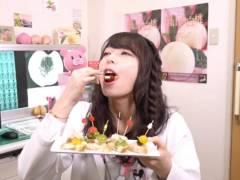 宇垣美里アナのAVみたいなフェラ顔女医コスプレがエロい