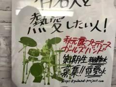 【画像】秋元康プロデュースのガールズバンド募集ポスターが女性をバカにしすぎだと炎上中!!