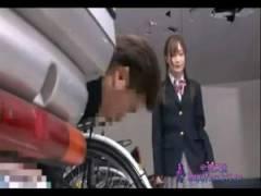 【強姦】自転車置き場でガチレイプされちゃった美少女が最後に無理やり中出し