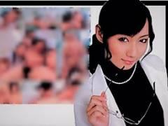 七瀬かすみ 男性のチクビを刺激する美人女医が優しくフェラ付きでイカせる性感クリニック