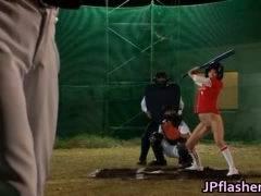 【泉麻那(いずみまな)】深夜のAV野球大会w
