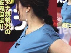 【女子アナ】業界No.1「爆乳」と称される女子アナウンサーがこちら。スゲェェーwwwww