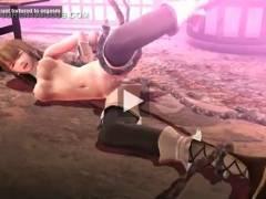 【ヒロインSMSDエロアニメ無料動画】魔女の拘束電流責めと触手セックスで潮吹きイキ狂う王女様