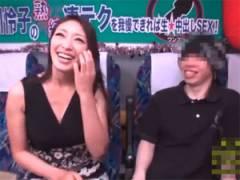 痴熟女優小早川怜子の手コキに射精我慢出来ればご褒美に中出しSEX!