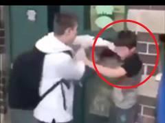 【動画あり】いじめっ子、いじめられっ子にボコボコにされ学校生活が終わるwww