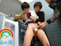 向井藍 ショートカットの女の子をマゾ調教!トイレや野外でバイブで凌辱されるがマゾ性癖に火が付く!