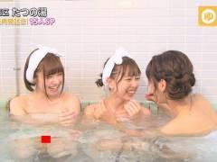 【マンチラ放送事故】SKE48がひとっ風呂浴びさせて頂きます! 明らかにバスタオルの隙間からマン毛が見るんだけどwwwwww(画像あり)