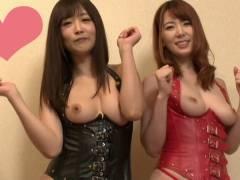 2大痴女優の世紀の対決【大槻ひびき 波多野結衣】