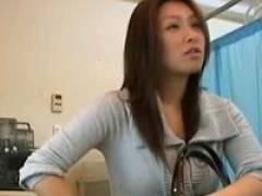 ◆産婦人科にやって来た美人奥様