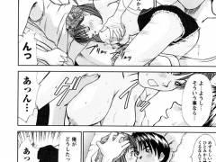 【エロ漫画】彼女が朝からパイズリしてきたので、ベランダでアナルに極太バイブ突っ込んで二穴責めしたったwwww