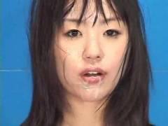 エロすぎる!!なんてエロいんだ…!!女子アナが原稿読んでる最中ぶっかけ顔射される凌辱動画!エロ動画!