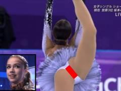 【ザギトワ】17歳のフィギュアスケート選手もエロショット撮られるんやなぁ・・・(画像あり)
