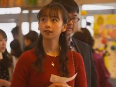 華村あすかさんがドラマでニット強調おっぱい。