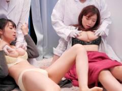 【マジックミラー号】33歳のセレブ素人妻が乳首マッサージで乳首イキ!