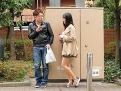 葵千恵 ヤリマン人妻が家に男を連れ込んで誘惑!巨乳おっぱいやおマンコを見せつけてハメる