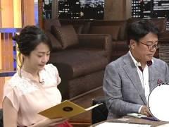 NHK副島萌生アナ、ニットじゃなくても目立ってしまう横乳。