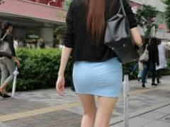 脚の細い女のハイヒールと生脚のコンボが街行く男達をエロい気持ちにさせまくっている件wwww