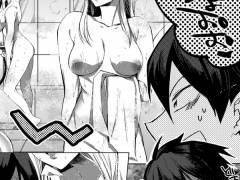 【エロ漫画】いつもクラスの女子たちに小ばかにされていた男性教師、骨董品屋で時間を停止できる不思議なアイテムを手に入れて仕返しレイプしちゃう!