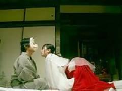 【有村千佳】儀式で媚薬で親戚に近親相姦レイプされる美少女巫女